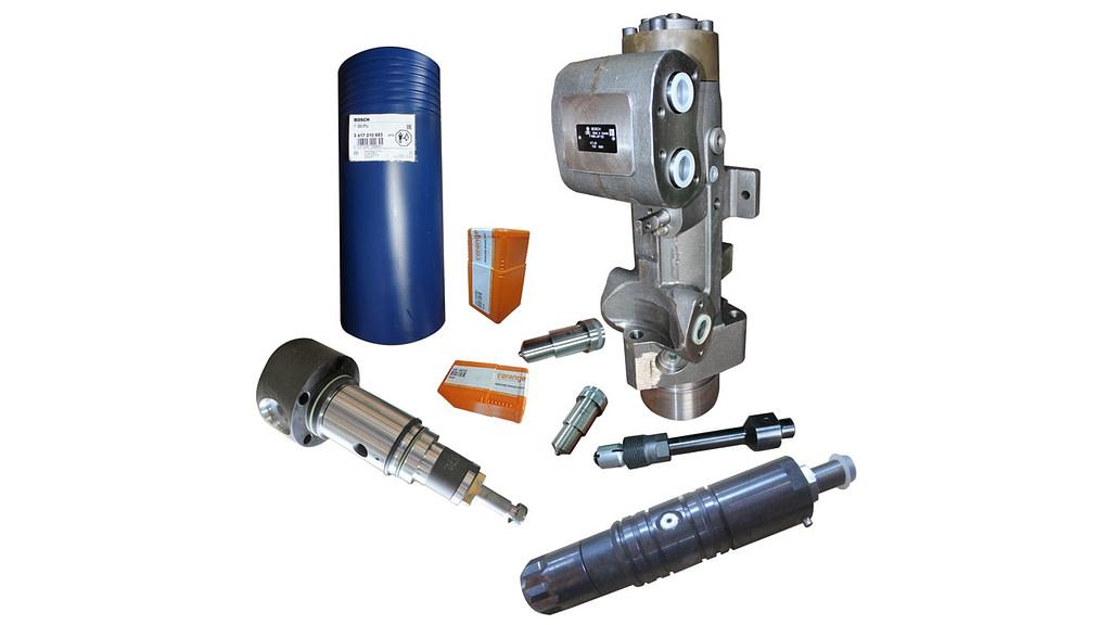 MaK M25 Fuel Injection Equipment